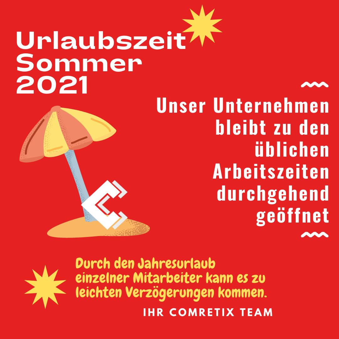 Urlaubszeit Sommer 2021